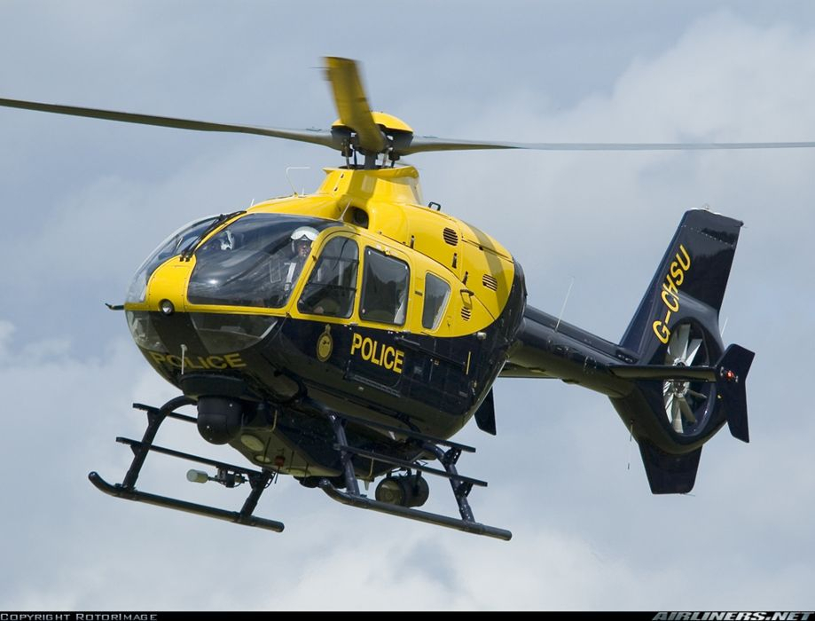 Helicopter Aircraft Vehicle Police Eurocopter EC-135 (1) wallpaper