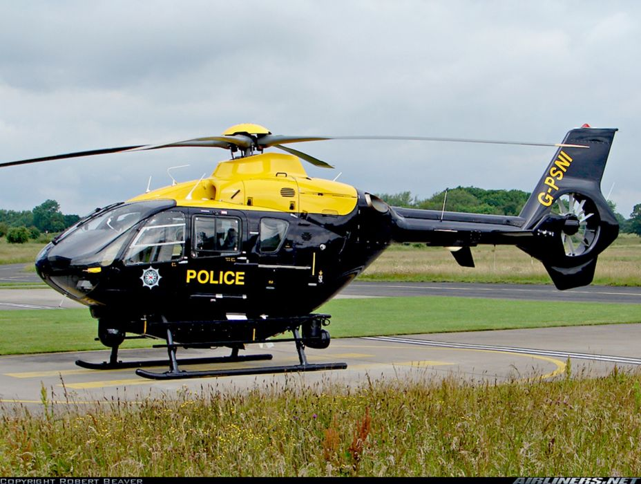 Helicopter Aircraft Vehicle Police Eurocopter EC-135 (2) wallpaper