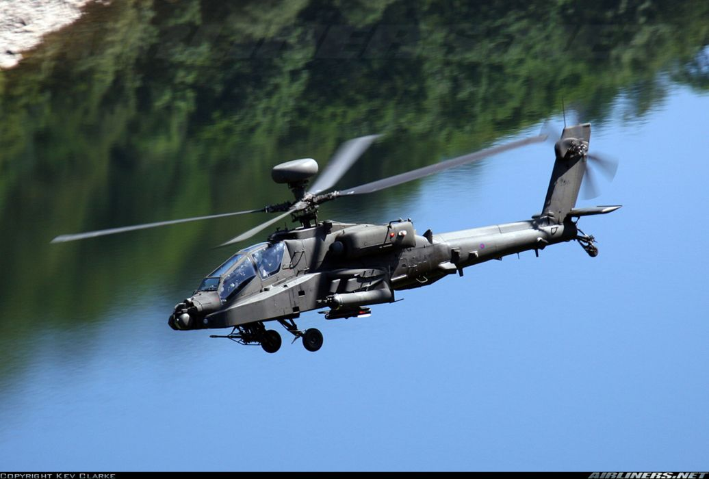 Helicopter Aircraft Vehicle Military Army Attack Apache (1) wallpaper