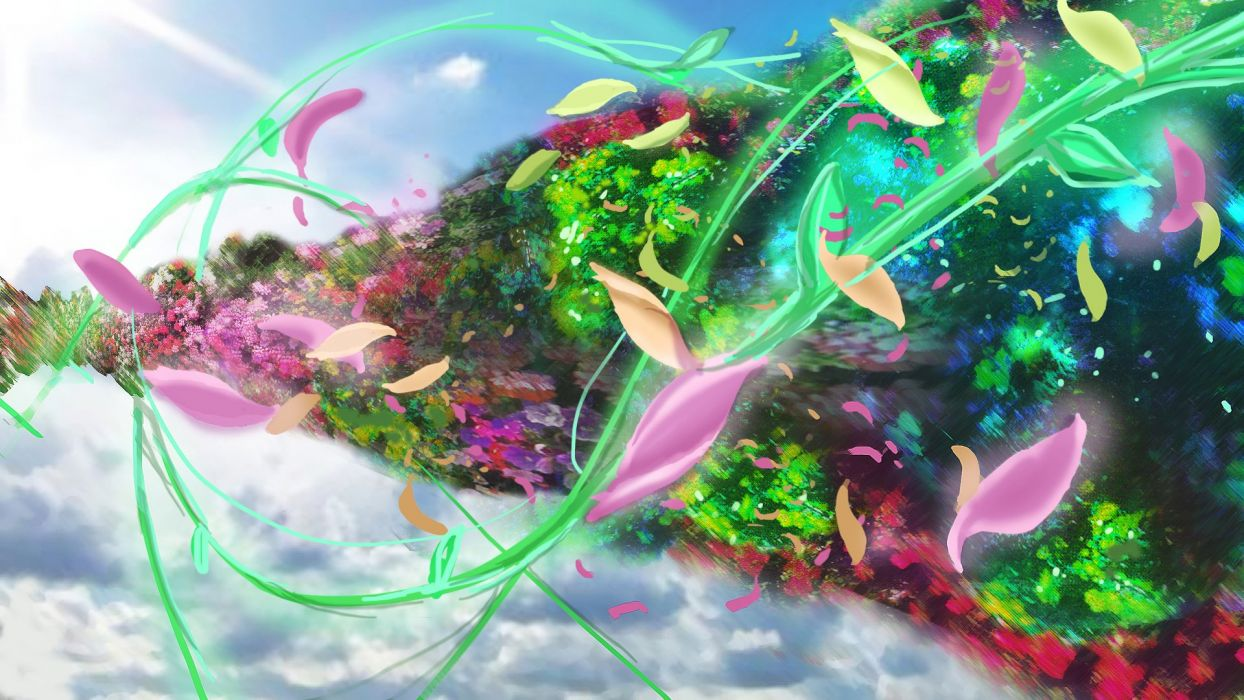 Child Of Eden Action Psychedelic Abstract Music Shooter Child Eden Fantasy 29