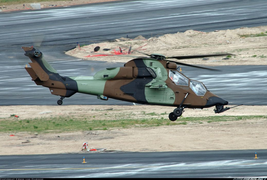 Helicopter Aircraft Vehicle Military Army Attack Eurocopter Tiger (1) wallpaper