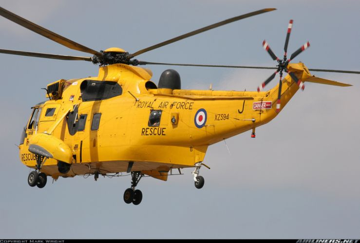 Helicopter Aircraft Vehicle Military Navy Rescue RAF wallpaper