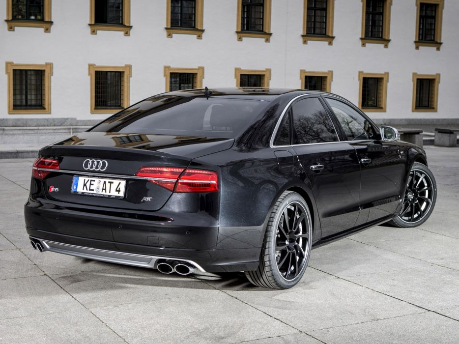 ABT Audi Audi-A8 AS8-D4 2014 Car Vehicle Sport Supercar Sportcar Supersport Tunning Germany 4000x3000 (1) wallpaper