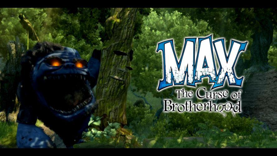 MAX CURSE BROTHERHOOD adventure puzzle family cartoon (13) wallpaper