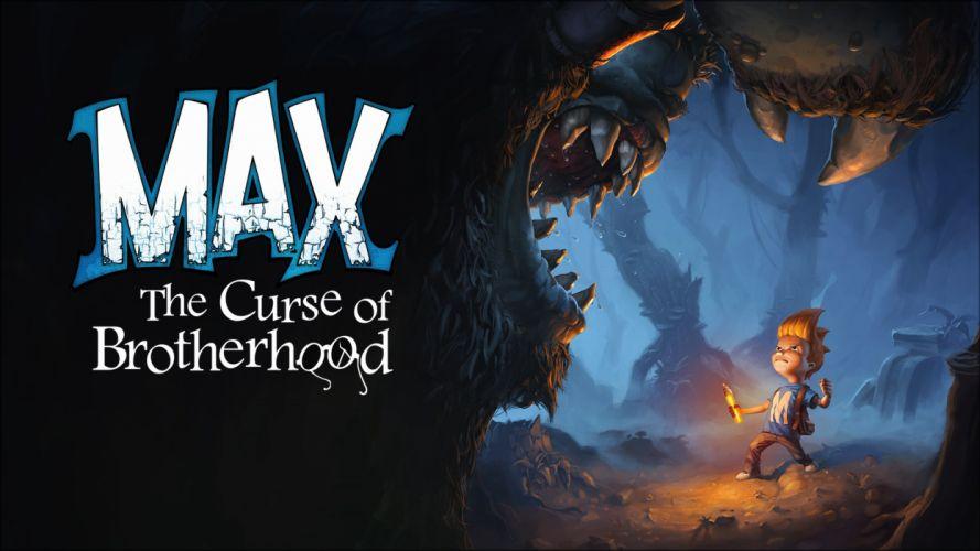 MAX CURSE BROTHERHOOD adventure puzzle family cartoon (14) wallpaper