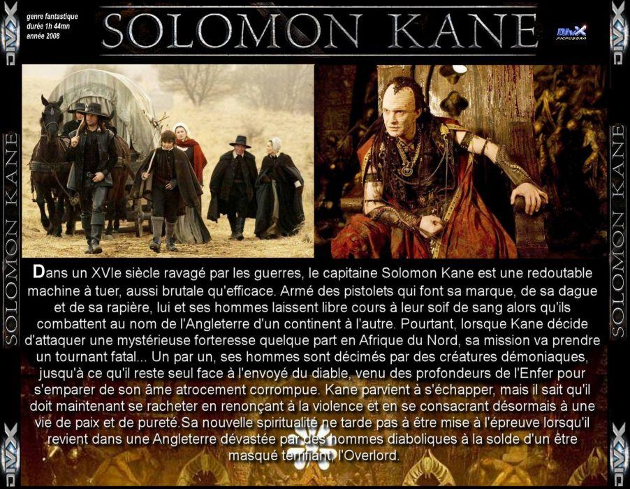 SOLOMON KANE action adventure fantasy (13) wallpaper