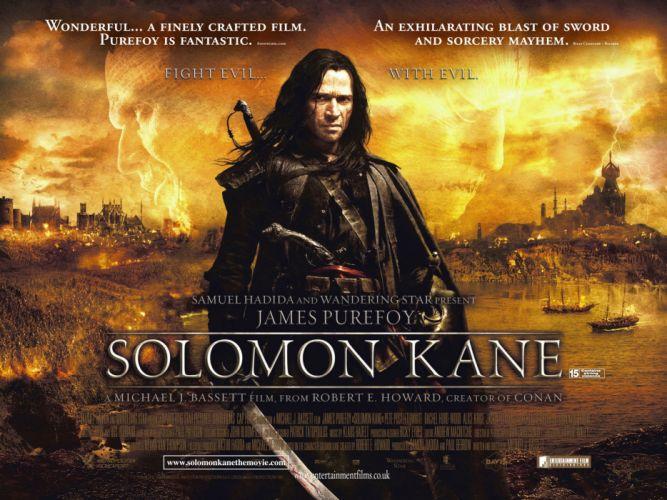 SOLOMON KANE action adventure fantasy (30) wallpaper