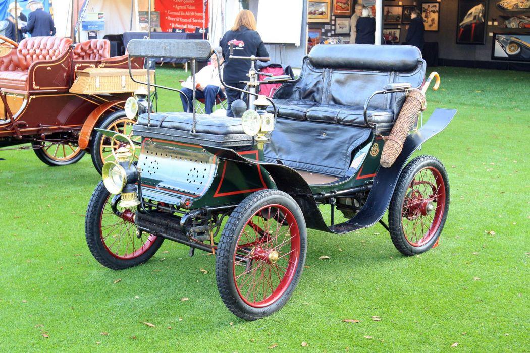 1900 De-Dion Bouton Vis-a-Vis Car Vehicle Classic Retro 1536x1024 wallpaper