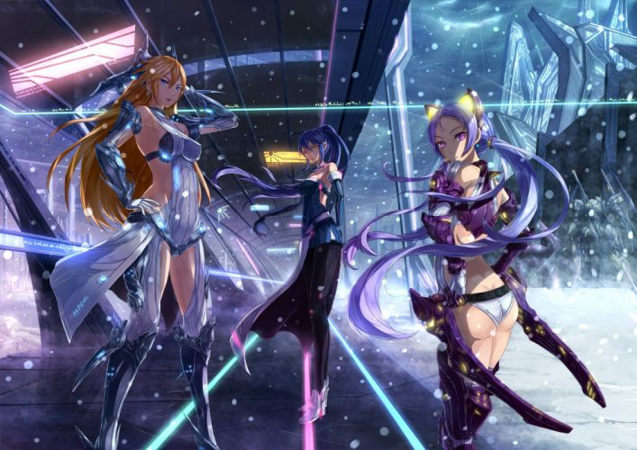STAR-OCEAN action rpg fantasy anime sci-fi star ocean (3) wallpaper