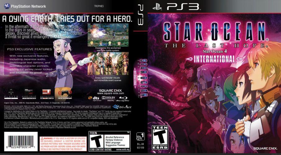 STAR-OCEAN action rpg fantasy anime sci-fi star ocean (3) wallpaper