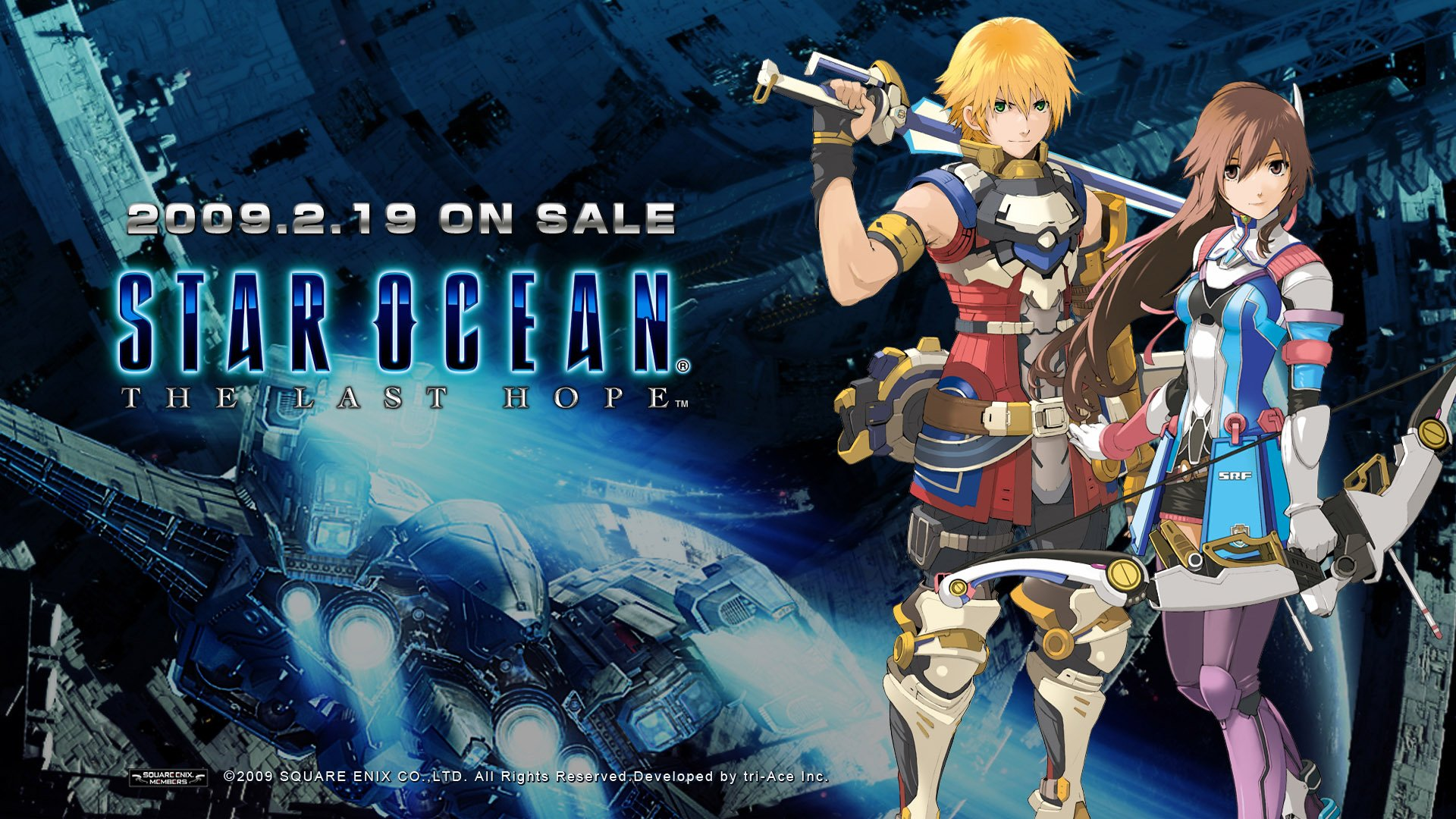 STAR-OCEAN action rpg fantasy anime sci-fi star ocean (54 ...