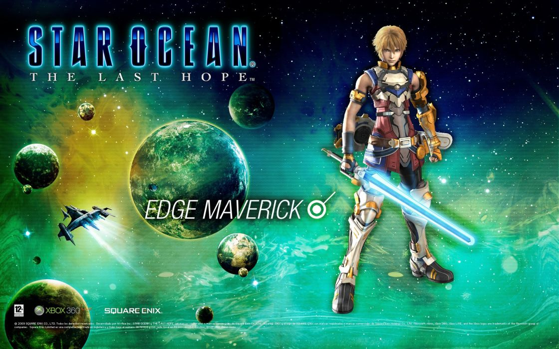 STAR-OCEAN action rpg fantasy anime sci-fi star ocean (87) wallpaper