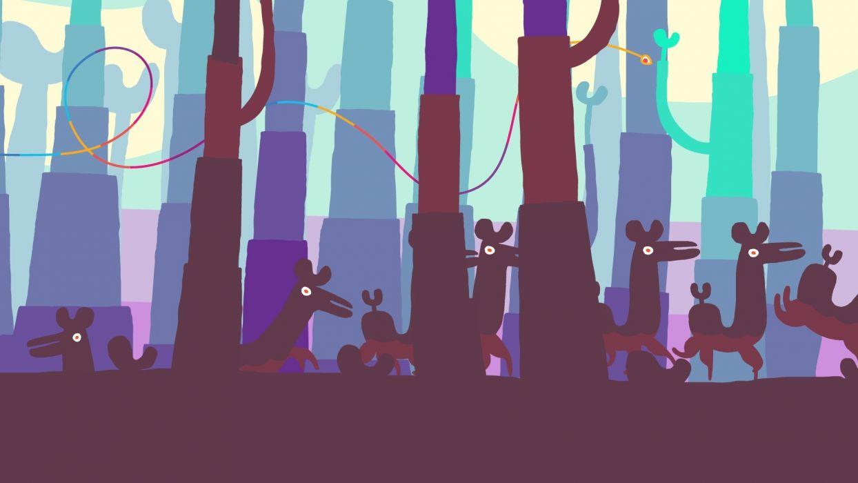 HOHOKUM adventure family cartoon sci-fi fantasy psychedelic (2) wallpaper