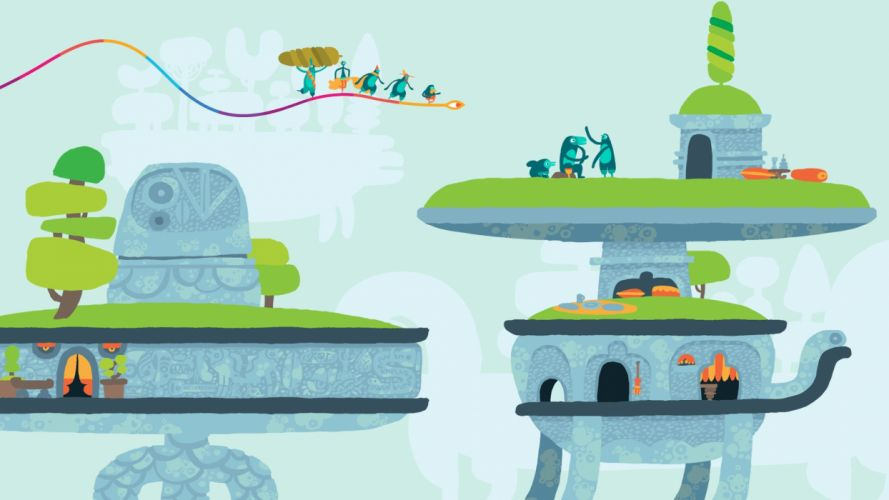 HOHOKUM adventure family cartoon sci-fi fantasy psychedelic (7) wallpaper