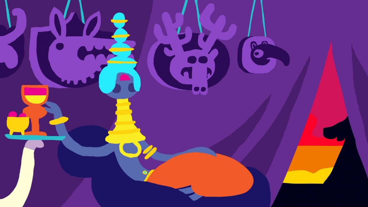 HOHOKUM adventure family cartoon sci-fi fantasy psychedelic (27) wallpaper
