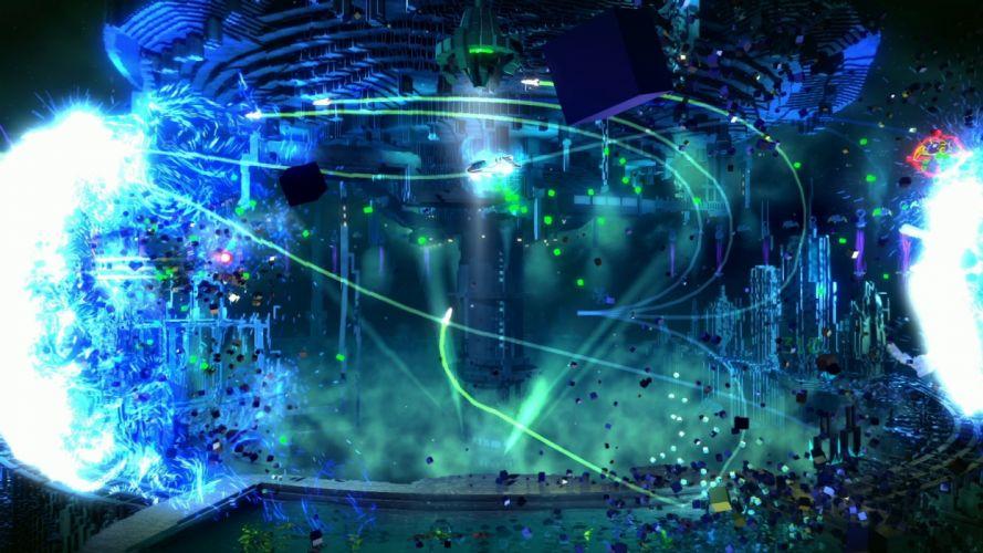 RESOGUN shooter action sci-fi battle psychedelic (7) wallpaper