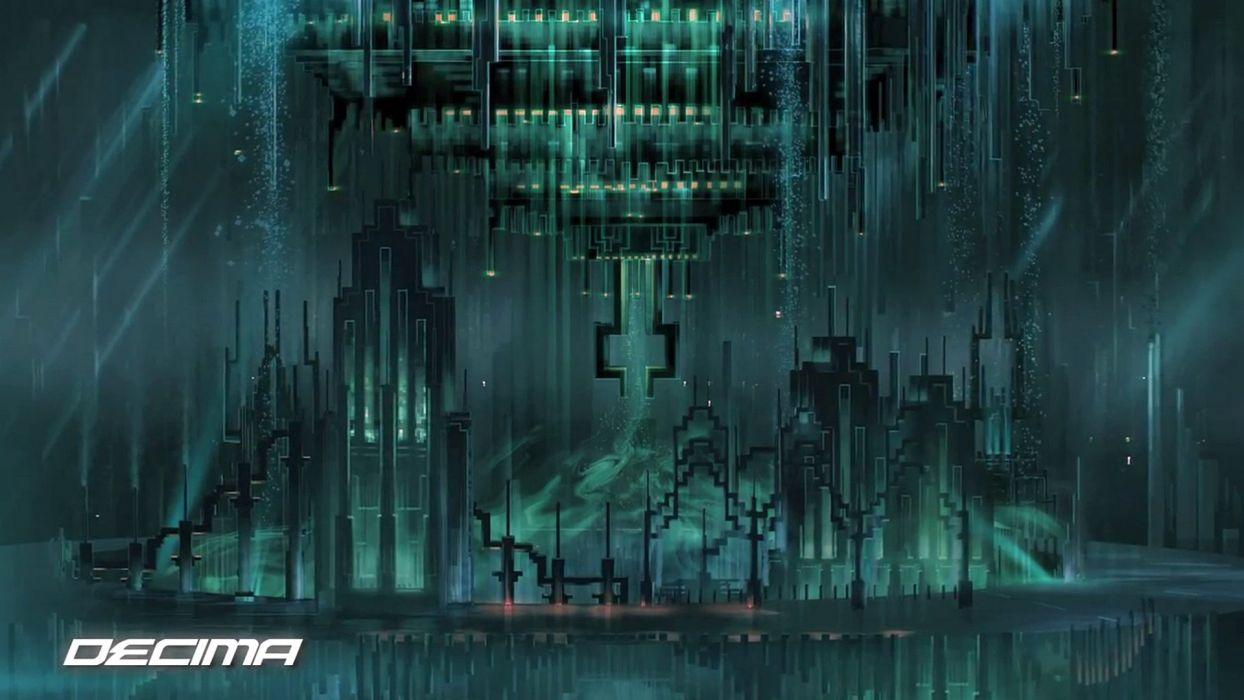 RESOGUN shooter action sci-fi battle psychedelic (31) wallpaper
