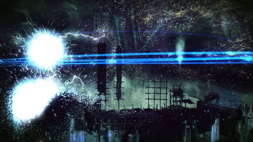 RESOGUN shooter action sci-fi battle psychedelic (36) wallpaper