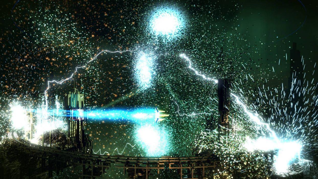 RESOGUN shooter action sci-fi battle psychedelic (39) wallpaper