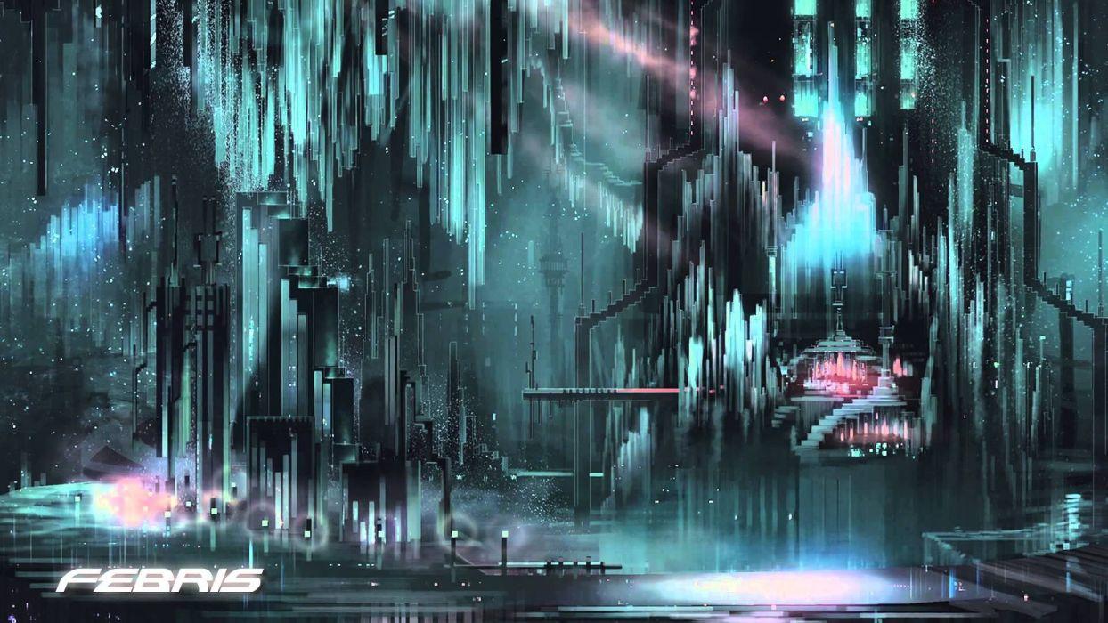RESOGUN shooter action sci-fi battle psychedelic (53) wallpaper