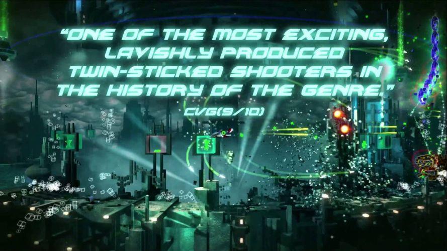 RESOGUN shooter action sci-fi battle psychedelic (55) wallpaper