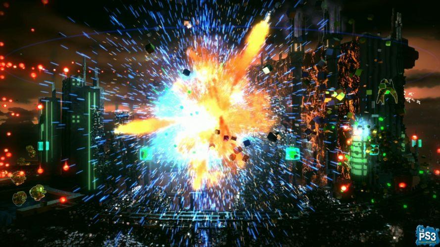 RESOGUN shooter action sci-fi battle psychedelic (51) wallpaper