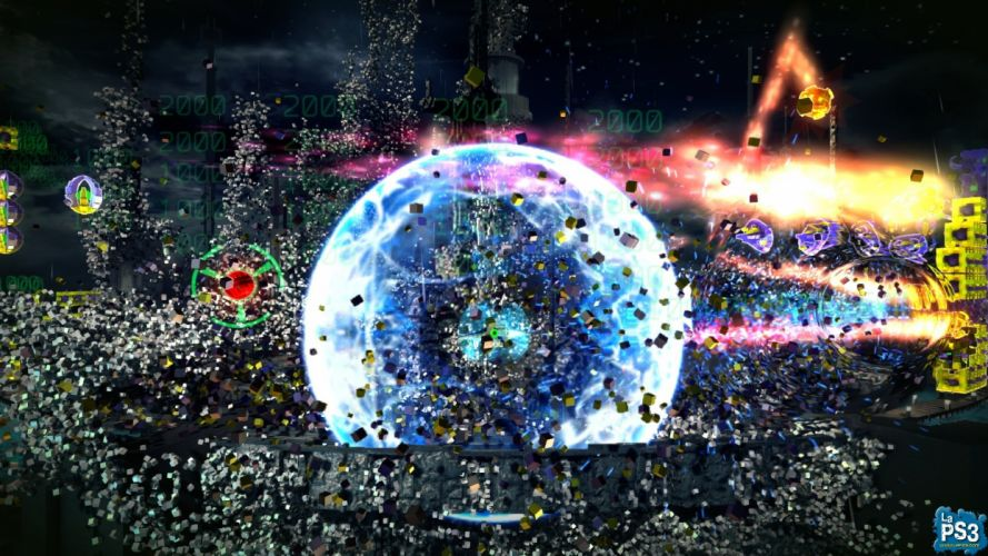 RESOGUN shooter action sci-fi battle psychedelic (52) wallpaper