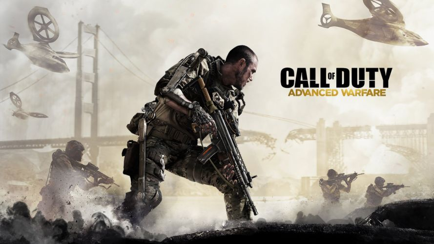 CALL OF DUTY Advanced Warfare battle warrior military action shooter sci-fi (6) wallpaper