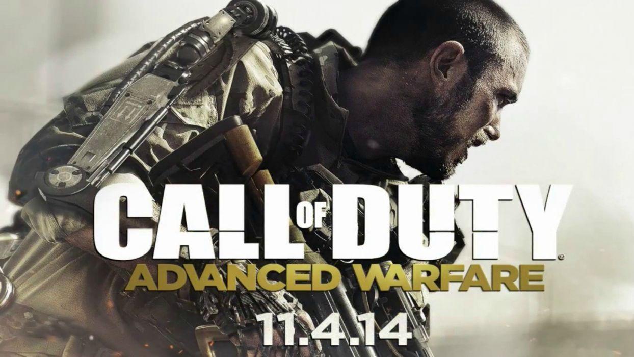 CALL OF DUTY Advanced Warfare battle warrior military action shooter sci-fi (7) wallpaper