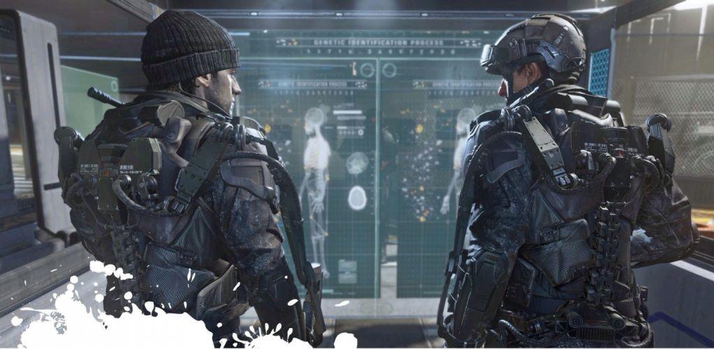 CALL OF DUTY Advanced Warfare battle warrior military action shooter sci-fi (20) wallpaper