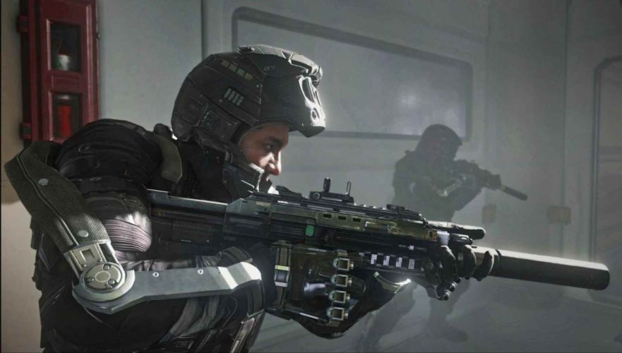 CALL OF DUTY Advanced Warfare battle warrior military action shooter sci-fi (26) wallpaper