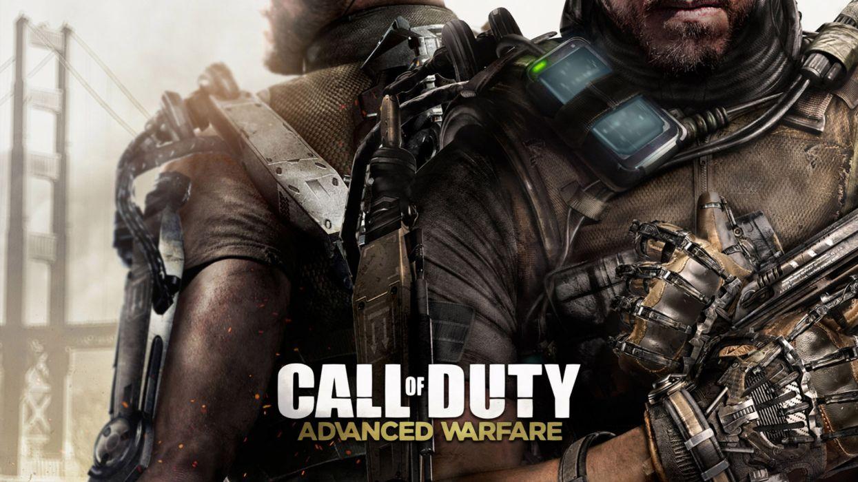 CALL OF DUTY Advanced Warfare battle warrior military action shooter sci-fi (25) wallpaper