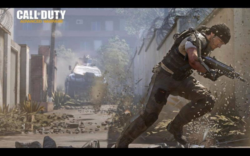 CALL OF DUTY Advanced Warfare battle warrior military action shooter sci-fi (33) wallpaper