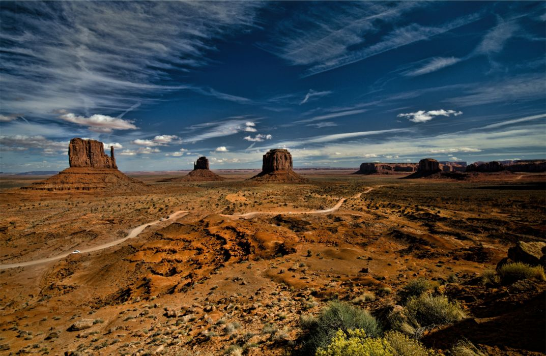 USA Monument Valley Sky Wallpaper