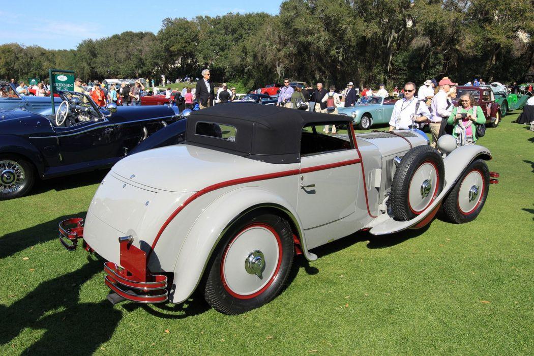 1928 Mercedes-Benz 680S Torpedo Roadster Car Vehicle Classic Retro Germany 1536x1024 (9) wallpaper