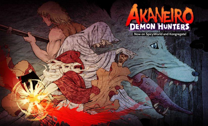 AKANEIRO DEMON HUNTERS online mmo rpg fantasy action (10) wallpaper