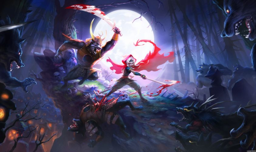 AKANEIRO DEMON HUNTERS online mmo rpg fantasy action (13) wallpaper