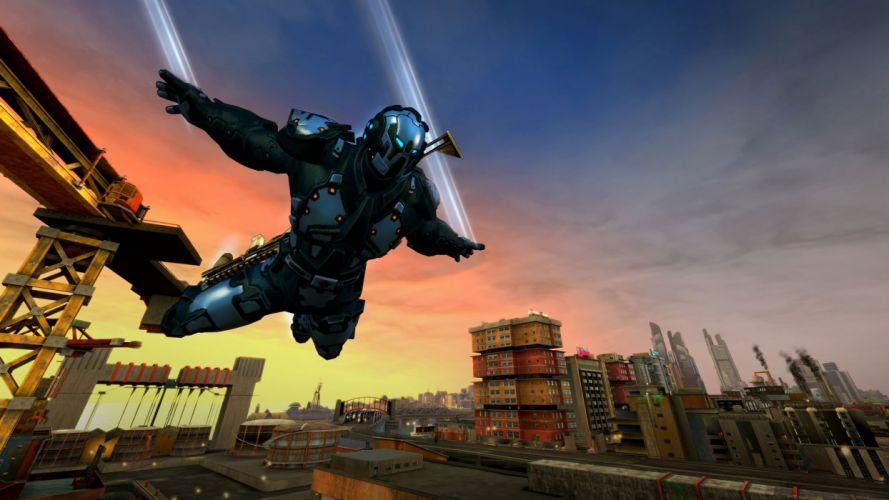 CRACKDOWN shooter sci-fi warrior action adventure (6) wallpaper