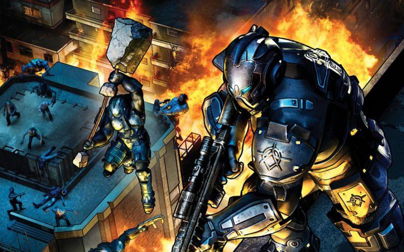 CRACKDOWN shooter sci-fi warrior action adventure (12) wallpaper