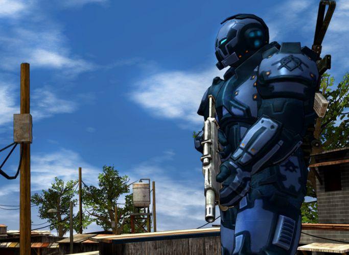 CRACKDOWN shooter sci-fi warrior action adventure (27) wallpaper