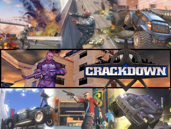 CRACKDOWN shooter sci-fi warrior action adventure (25) wallpaper