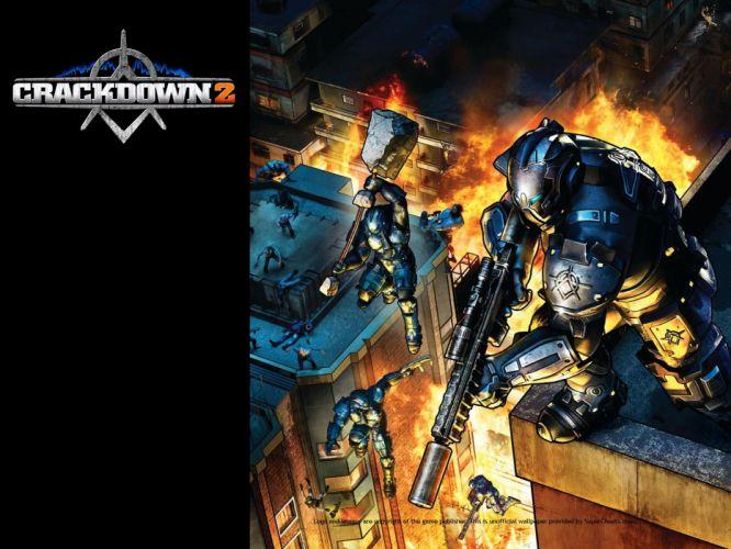 CRACKDOWN shooter sci-fi warrior action adventure (36) wallpaper