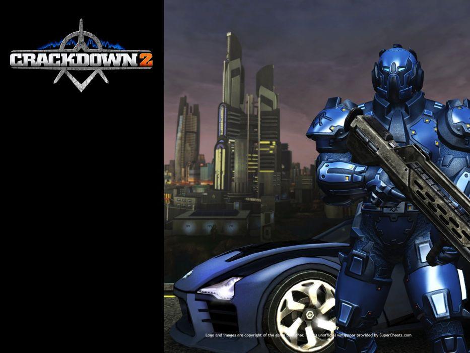 CRACKDOWN shooter sci-fi warrior action adventure (42) wallpaper