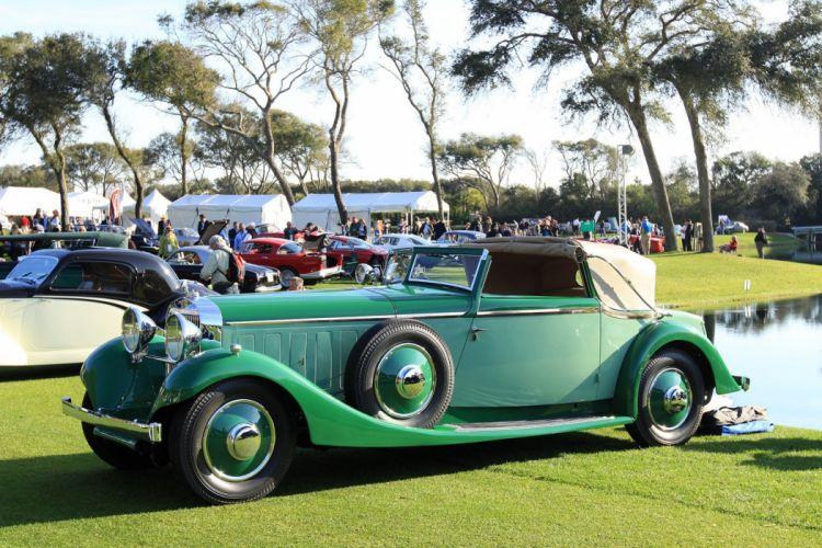 1934 Hispano-Suiza J12 Sedanca Drophead Coupe Car Vehicle Classic Retro 1536x1024 (2) wallpaper