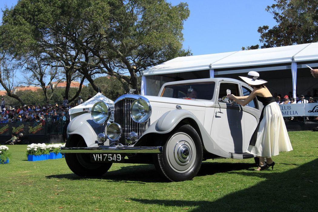 1935 Bentley 3Az Litre Rippon Aerodynamic Sports Saloon Car Vehicle Classic Retro 1536x1024 (1) wallpaper