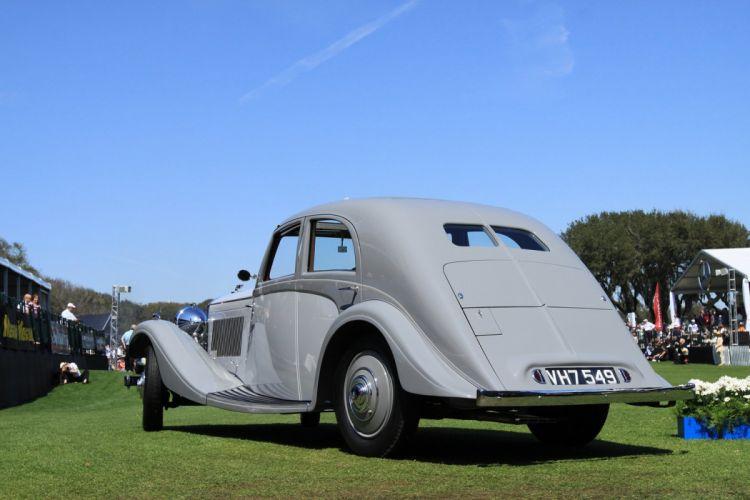 1935 Bentley 3Az Litre Rippon Aerodynamic Sports Saloon Car Vehicle Classic Retro 1536x1024 (3) wallpaper