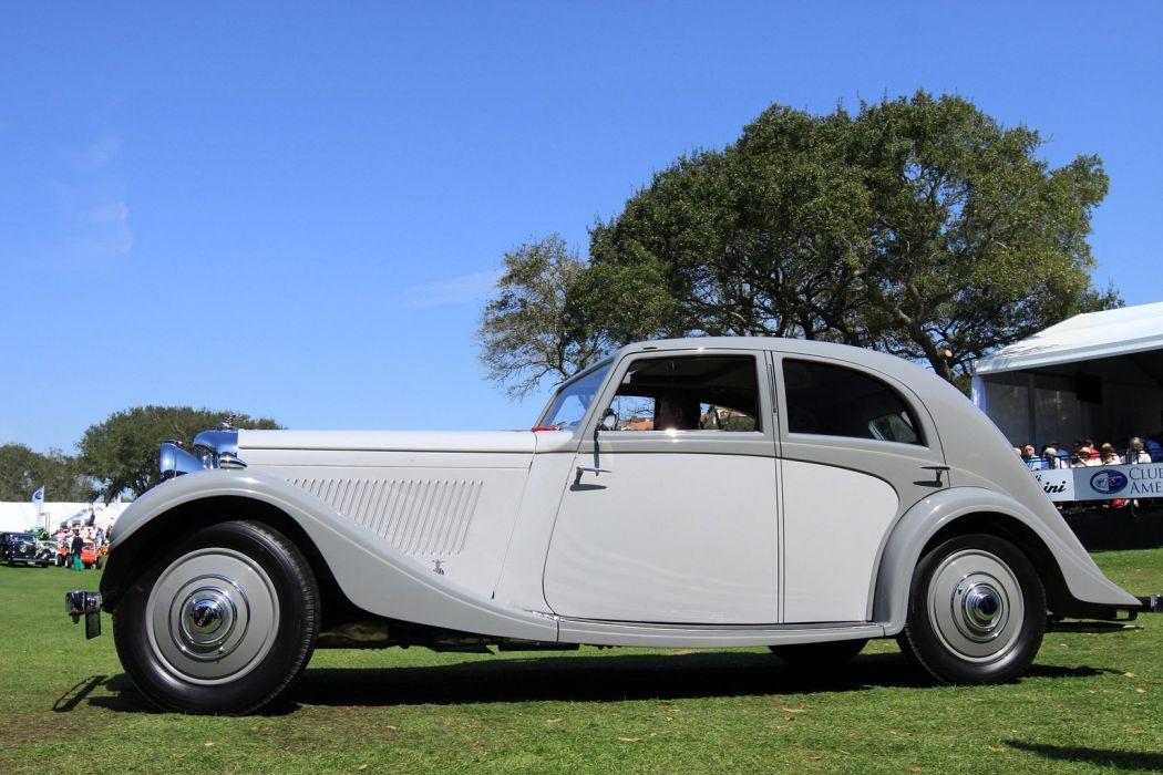 1935 Bentley 3Az Litre Rippon Aerodynamic Sports Saloon Car Vehicle Classic Retro 1536x1024 (4) wallpaper