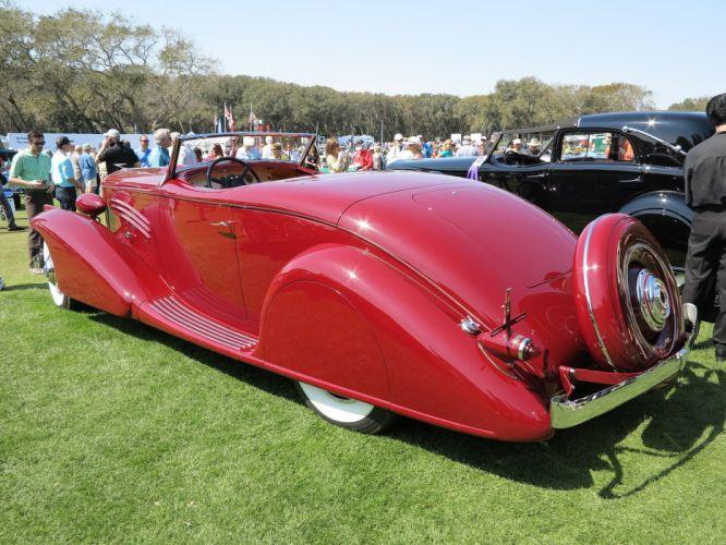 1935 Duesenberg Model-J Bohman-&-Schwartz Roadster Car Vehicle Classic Retro 1536x1024 (4) wallpaper