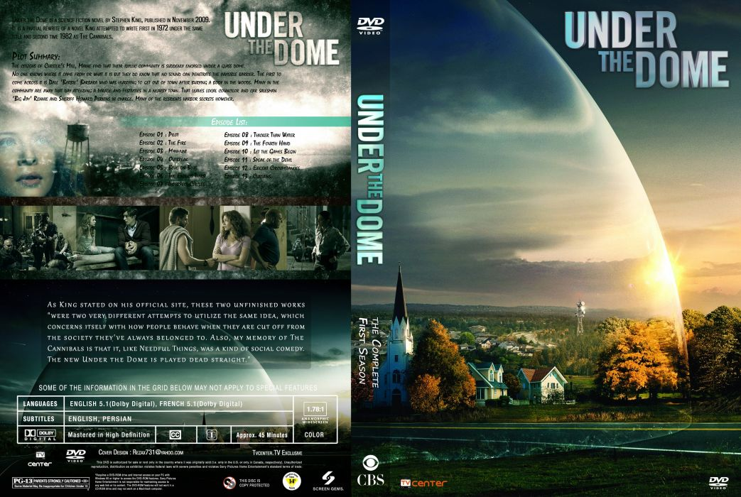 Under The Dome Drama Mystery Thriller Sci Fi Series Horror