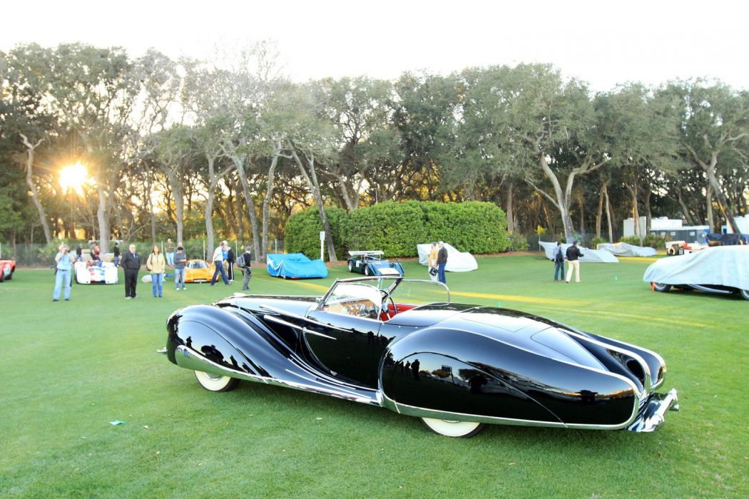 1948 Delahaye 135M Cabriolet Figoni-and-Falaschi Car Vehicle Classic Retro 1536x1024 (5) wallpaper
